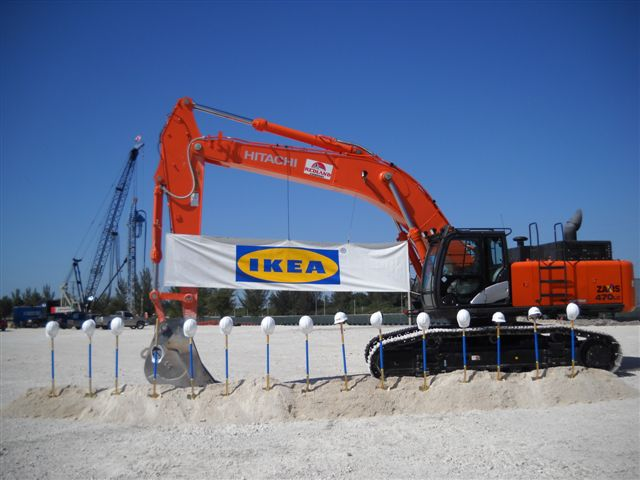 IKEA Miami Ground Breaking Ceremony