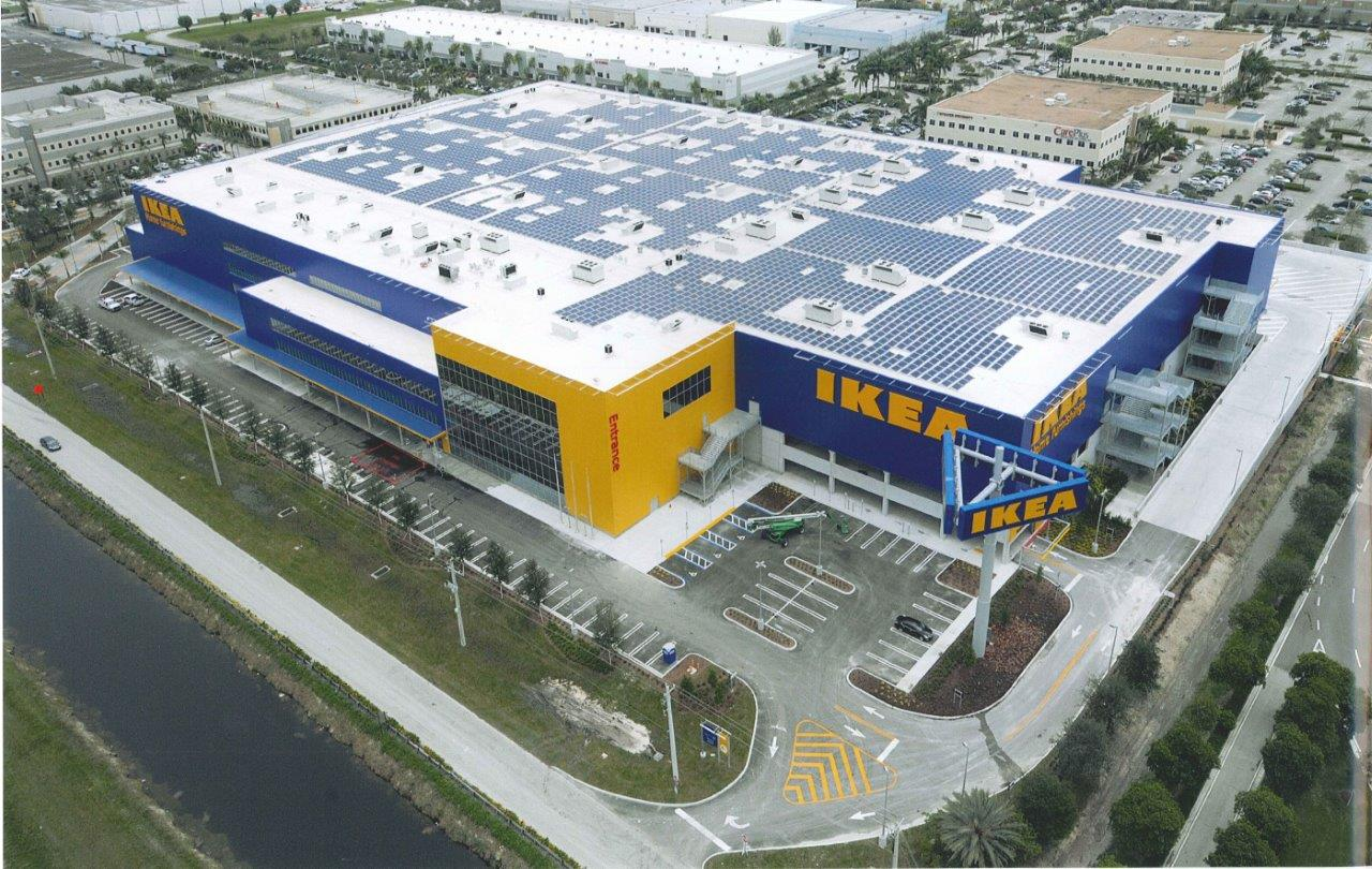 ikea opens new 416 000 sf store in miami 2nd largest store in us redland company. Black Bedroom Furniture Sets. Home Design Ideas