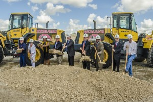 Homestead City Hall Groundbreaking (Photo Courtesy of South Dade News Leader/Calkins Media)