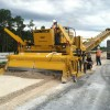 Redland Company Gomaco 9500 Trimmer finishing base on I-4 in Daytona
